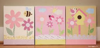 Room Decorating With Paper Baby Girl Nursery Diy Decorating Ideas Repeat Crafter Me