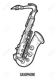 Livre Coloriage Pour Les Enfants Instruments Musique Banque