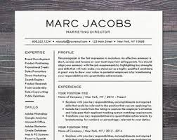 Modern Professional Resume Layout Resume Template Cv Template For Word Mac By Theshinedesignstudio