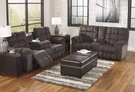 2 pc acieona slate reclining sofa set