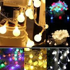 Dây đèn led bóng tròn 1.5M 3M 4M 5M dùng trang trí tiệc - Đèn trang trí