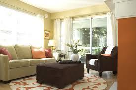orange and green living room orange rugs for living room