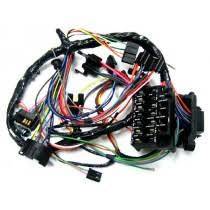 dash harness and fuse box wiring harnesses model specific 1967 m t console warning lights
