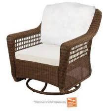 the home depot furniture. Hampton Bay - Patio Chairs Furniture The Home Depot Regarding Swivel Chair