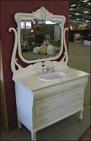 shabby chic bathroom bathroom. Shabby Chic Bathroom Vanities Ideas With Mirror And Bowl Wastafel Image
