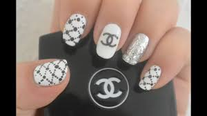 Chanel Nail Design Chanel Inspired Nail Art Design Two Methods On Making The Chanel Logo