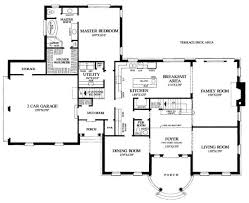 simple floor plan of a house. Famous Simple Story Floor Plans House With Garage Plan Of A
