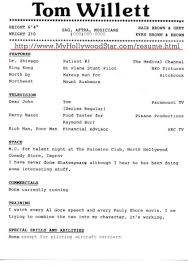 Beginner Actor Resume Sample Free Actor Resume Template And How To Write Yours Properly With 49