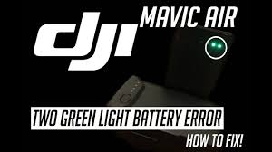 Mavic Pro Battery Lights Meaning Pin On Mavic Air