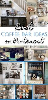 166 best Coffee Bar Ideas \u2022 DIY Home Coffee Bars images on ...