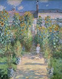 claude monet the artist s garden at vétheuil 1880 national gallery of
