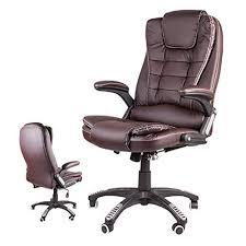 Giosedio BSB Fauteuil élégant pour bureau, siège en cuir confortable ...