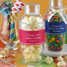 Personalized Birthday Cocktail Shaker FavorCocktail Party Favors