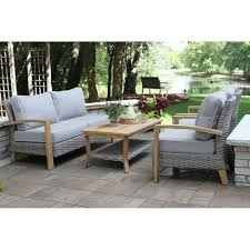benenson 4 piece teak sofa seating