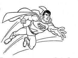Kids Page: Superman Coloring Pages
