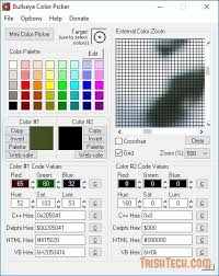 Bullseye Color Picker Free Color Finder For Web And