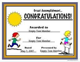Congratulation Certificate Congratulations Elementary School Certificate Creator Create