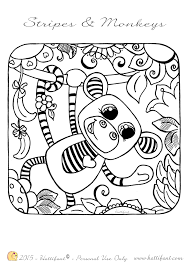 Small Picture printable sock monkey holiday coloring pages sock monkey coloring
