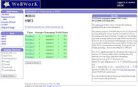 completing homework online webwork hwpage jpg