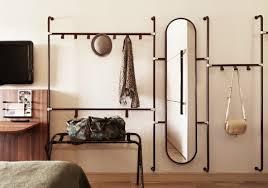Creative Coat Rack Creative hallway coat racks and long oval mirror Founterior 20