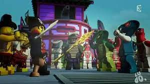 Episode 15 of Ninjago Pirates against Ninjas in French. - Dailymotion Video