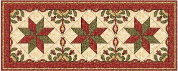 Free Table Runner Patterns Extraordinary Esther's Quilt Blog Glad Tidings Free Table Runner Pattern