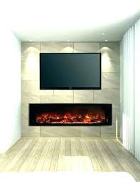 modern flame electric fireplace b flames landscape series ambiance wall reviews ser
