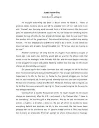 Narrative Essay Example College Examples Of College Personal Narrative Essays Write A Essay