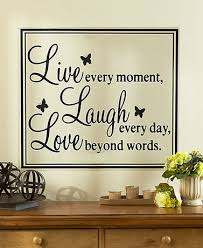 add to your home s decor and spread an uplifting message with a sentiment wall quote the decorative one piece vinyl artwork is easy to apply nbsp remove  on is vinyl wall art easy to remove with add to your home s decor and spread an uplifting message with a