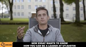 writing your leadership short answer tex admissions