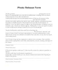 Photography Release Template Free Photography Copyright