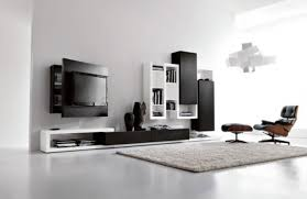 Tv Unit Design For Living Room Living Room Luxurious White Design Black Wall Units Bookshelf Rug