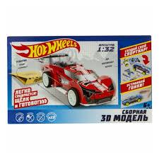<b>Сборная модель Hot Wheels</b> Т16974 Машинка Super Blitzen ...