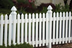 picket fence design. Notice How The Rails In This Vinyl Fence Design Are Mortised Into Posts. Picket Extreme How To