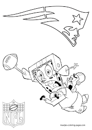 Small Picture Coloring Pages New England Patriots Coloring Page Coloring Home