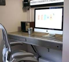 painted office furniture. Home Desk Furniture Floating Build Office Painted Tools Woodworking Projects Sets