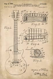 gibson les paul guitar invention patent art poster print industrial prints and posters by keep calm collection