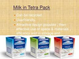 Milk Being Supplied In Tetra Pack And Through Vending Machines Extraordinary Packaging Project