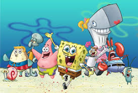 spongbob sqaure pants.  Pants Major Characters In The Series From Left To Right Gary Mrs Puff  Squidward Patrick SpongeBob Sandy Pearl Mr Krabs And Plankton To Spongbob Sqaure Pants Wikipedia