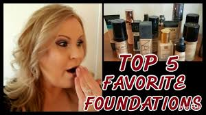 top 5 favorite foundations my foundations for bo to dry skin over 40 nars urban decay