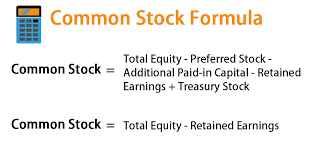 Stock Number Common Stock Formula Calculator Examples With Excel Template