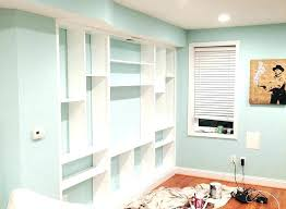 decoration built in shelving ideas shelves constructing custom around bathroom into wall