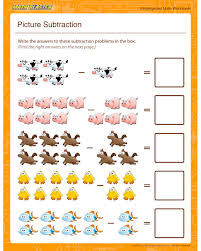 7 Best Images of Free Printable Kindergarten Subtraction ...