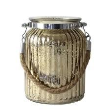 glass jar antique gold medium