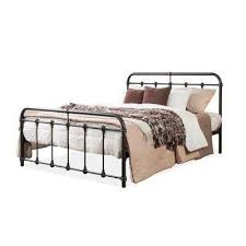 Wrought Iron - Bed Frame Mounted - Rustic - Beds & Headboards ...