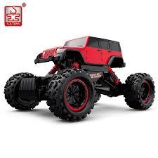 S.X.TOYS RC Car 4WD 2.4GHz Rock Crawlers Bigfoot Pickup Trucks 4x4 ...