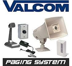 amazon com new valcom business warehouse industrial paging horn Valcom Paging Horn Wiring Diagram new valcom business warehouse industrial paging horn speaker system intercom ValCom V-1030C Wiring