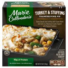 I know nothing beats a home made thanksgiving meal.i can't get into details but it's beyond my control. Save On Marie Callender S Turkey Stuffing Thanksgiving Pie Order Online Delivery Stop Shop