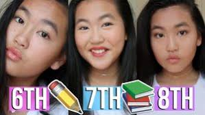 resume ideas of middle everyday makeup tutorial 6th 7th and 8th grade in 8th