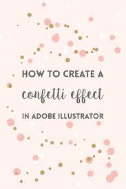 Confetti Brush Photoshop Illustrator Brushes Learn How To Create A Confetti Brush In